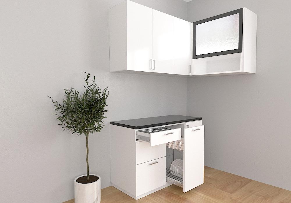 Rumah Mungil Ini Ide Desain Kitchen Set Minimalis Untuk Dapur Kecil Kreasi Art